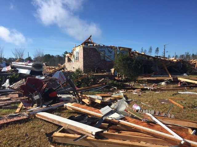Copiah County storm damage
