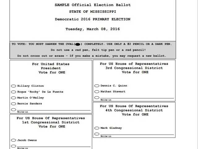 Mississippi will appeal order to change primary ballot