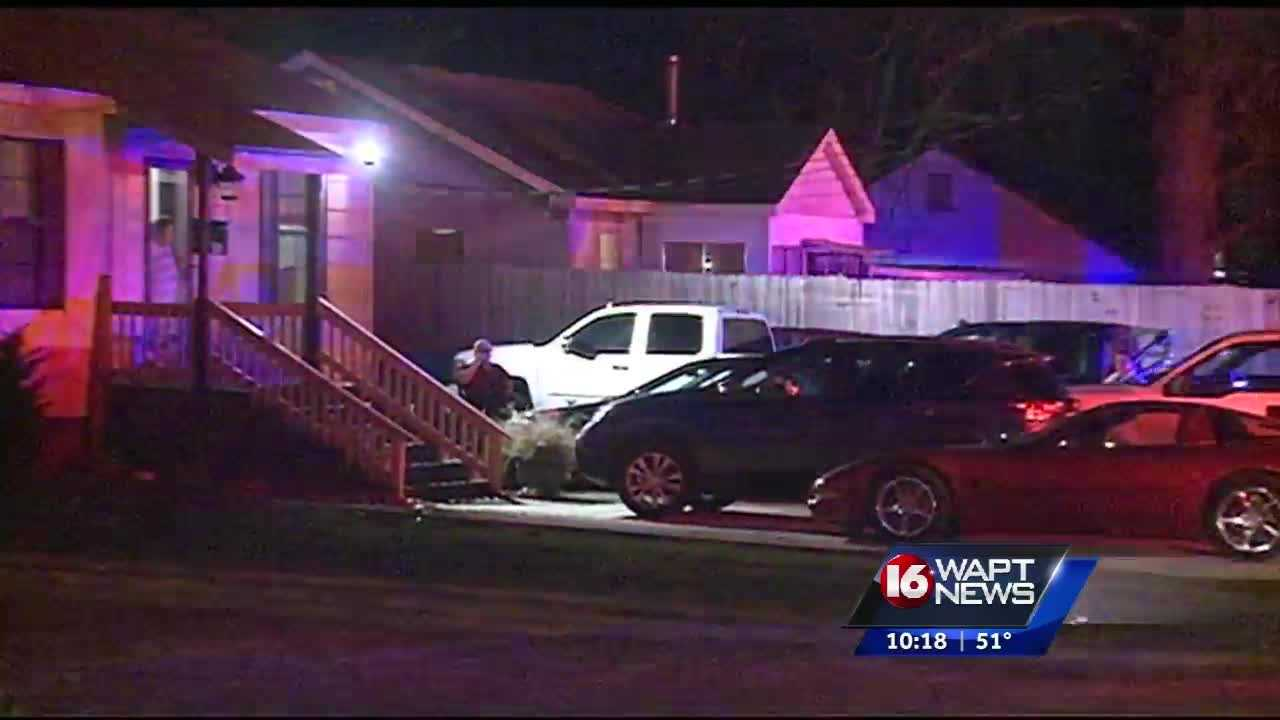 A murder in Jackson tonight.One man is dead and another seriously injured.