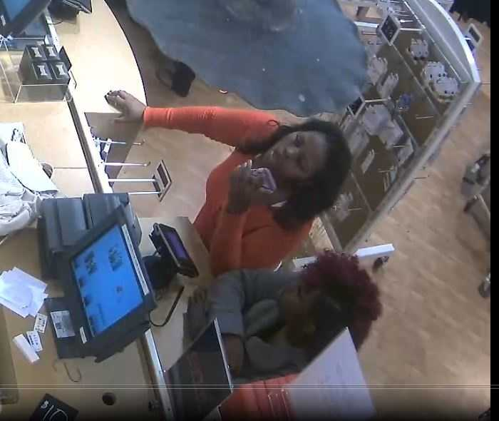 The Ridgeland Police Department has released surveillance photos of two women accused of using an illegally cloned credit card.