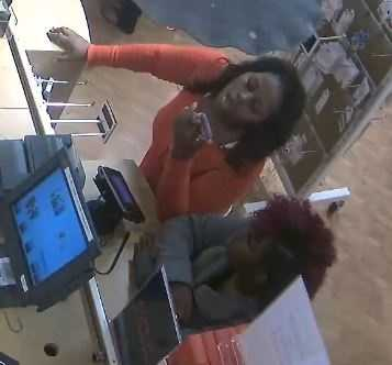 The victim's card number was also used in other cities, but was used by different suspects other than the two caught on camera in Ridgeland, police said.