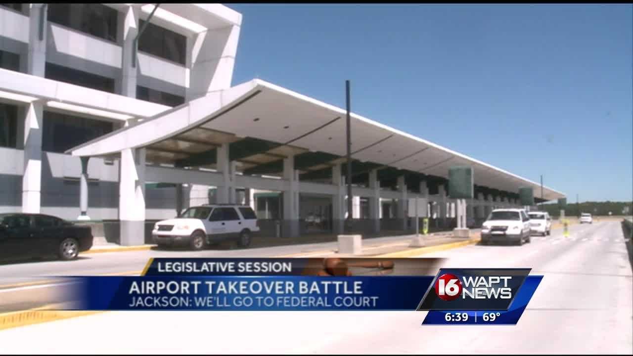 The airport takeover bill had one final step before making it to the house.