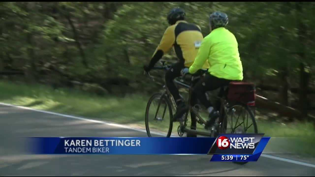 If you've been in Ridgeland this weekend you may have seen a lot of two seater bikes near the Natchez Trace.