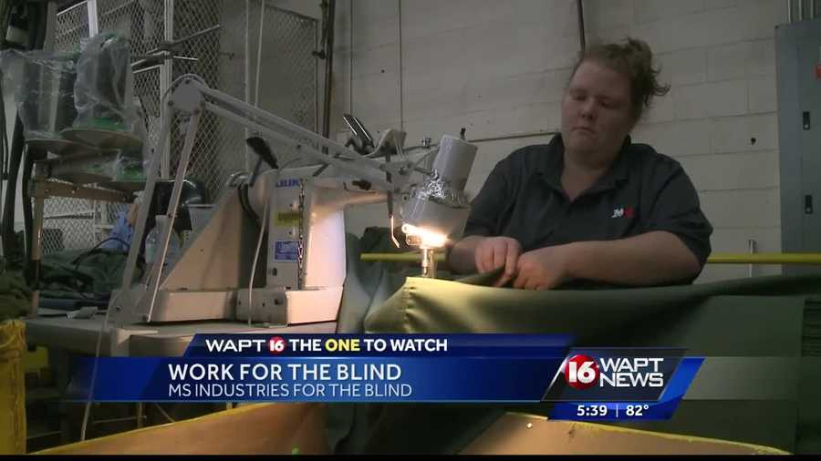 a local organization is working to get legally blind
