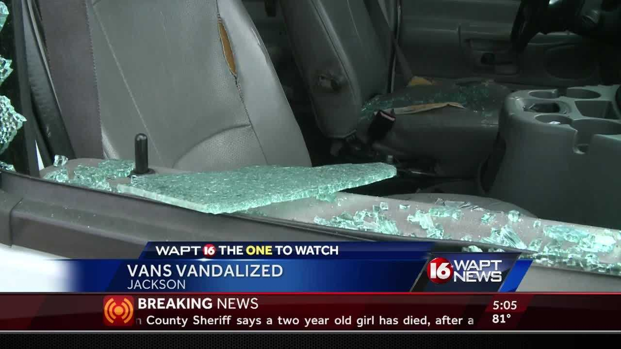 A church will have to fix to vans after they say 3 teens broke into the cars early Wednesday morning. 16 WAPT's Kandace Redd has the story.
