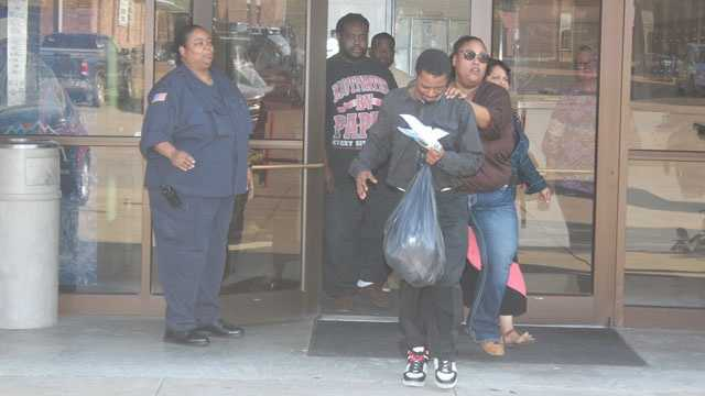 Joshua Blunt was released from jail on his own recognizance. Photo credit: Reggie Ross, GrenadaStar