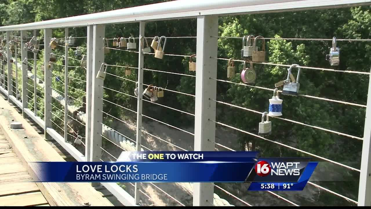 The Swinging Bridge in Byram has been an iconic landmark in the town for years but as 16 WAPT's Allie Ware explains a new trend is bringing more people to the bridge.
