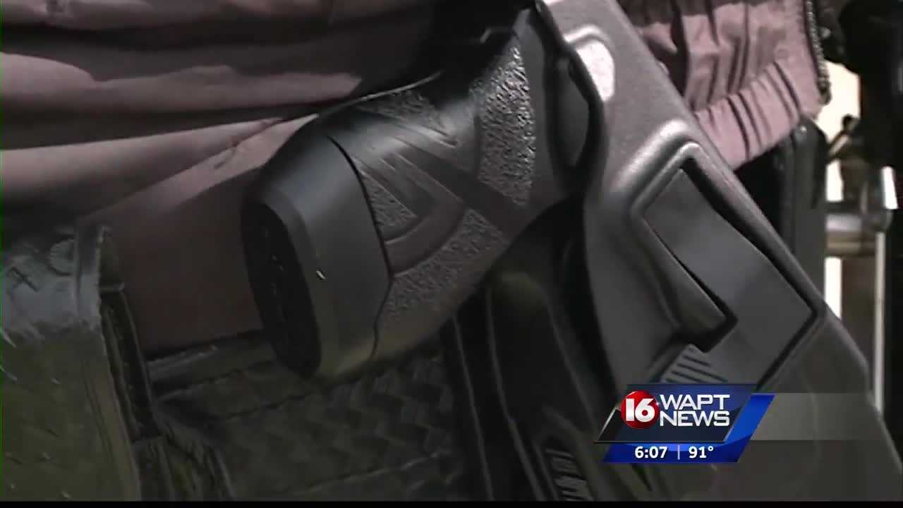 Jackson police are now using tasers.