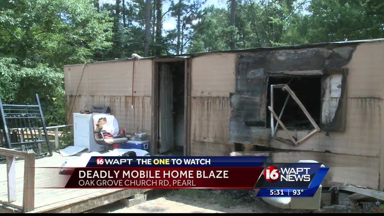 Family and friends are mourning the loss of a loved one who died in a mobile home fire.
