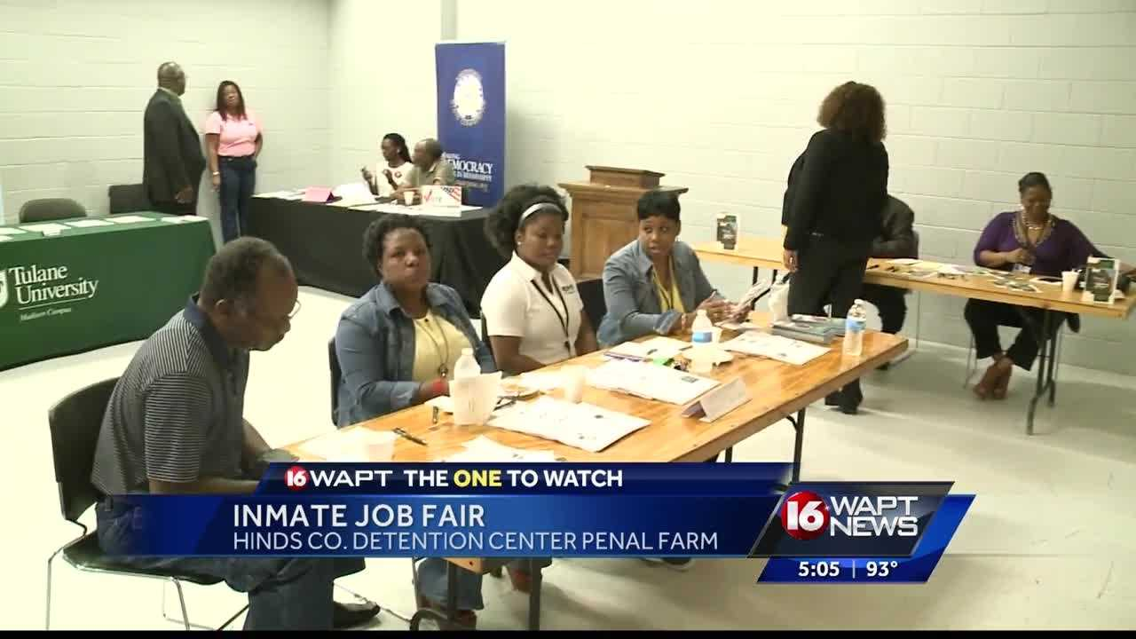 Inmates that are about to get out of prison had a chance to connect with employers willing to hire.