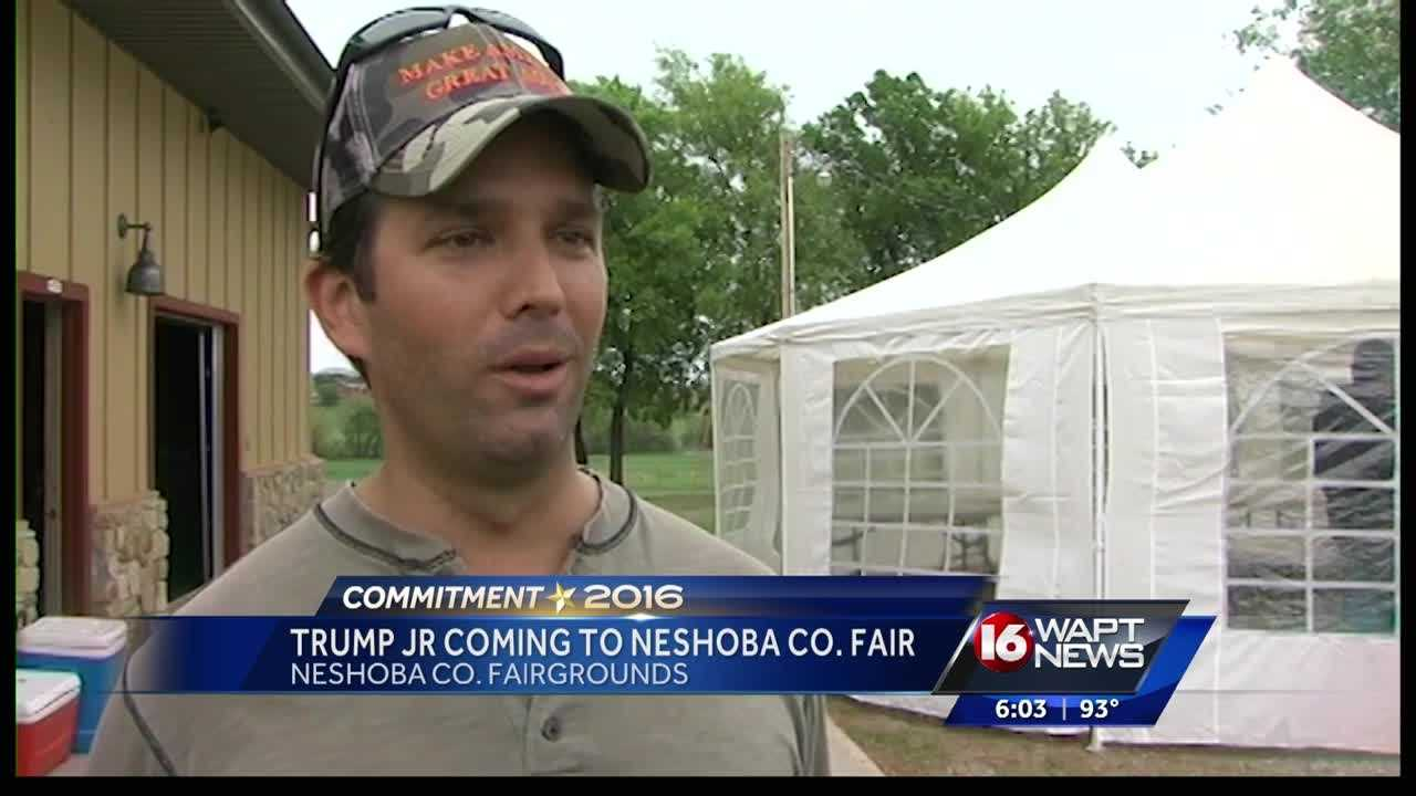 Presidential politics are coming to Neshoba County.