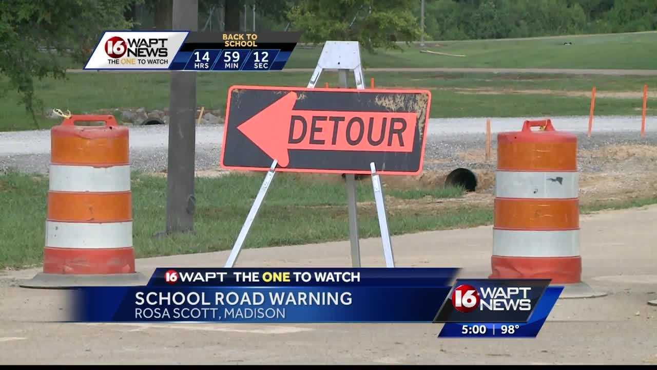 Road construction in Liberty Park could cause major delays as students go back to school on Thursday. 16 WAPT's Anne Parker.
