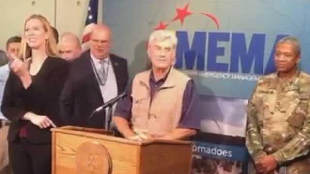 Governor MEMA drill