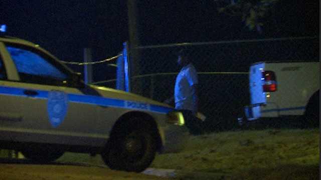 Jackson police took Joshua Young, seen here, into custody at the scene.