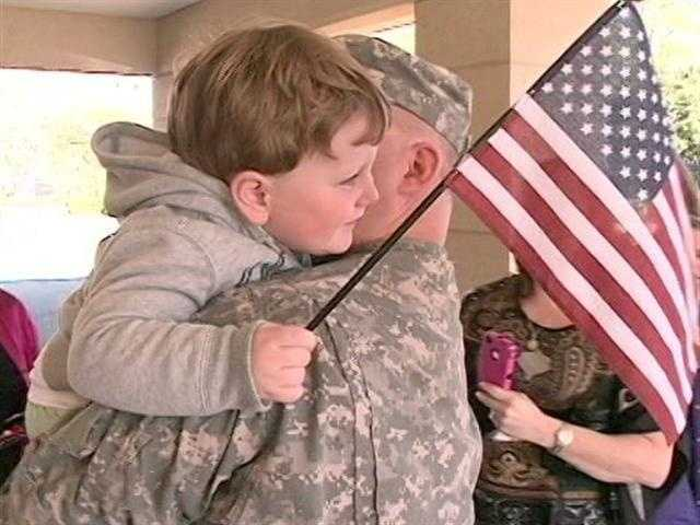 Images: Soldier Reunited With Son