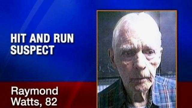 Raymond Watts, 82, now faces a manslaughter charge in connection witha  hit-and-run that killed 10-year-old Allen Lutrick.
