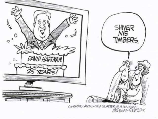 In 2011, David celebrated 25 years as 16 WAPT's chief meteorologist.