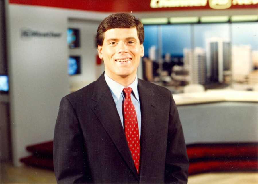 David Hartman in 1986.
