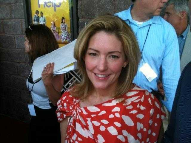 """Kathryn Stockett on the red carpet before the Mississippi premiere of """"The Help."""""""
