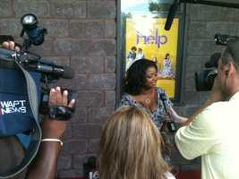 Octavia Spencer on the red carpet.