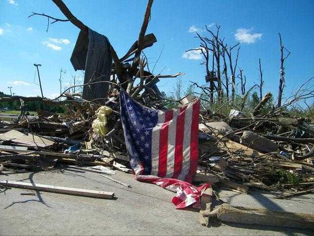 A tornado virtually destroyed the town of Smithville in 2011.