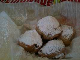 Deep fried Oreos are available at the Mississippi State Fair.