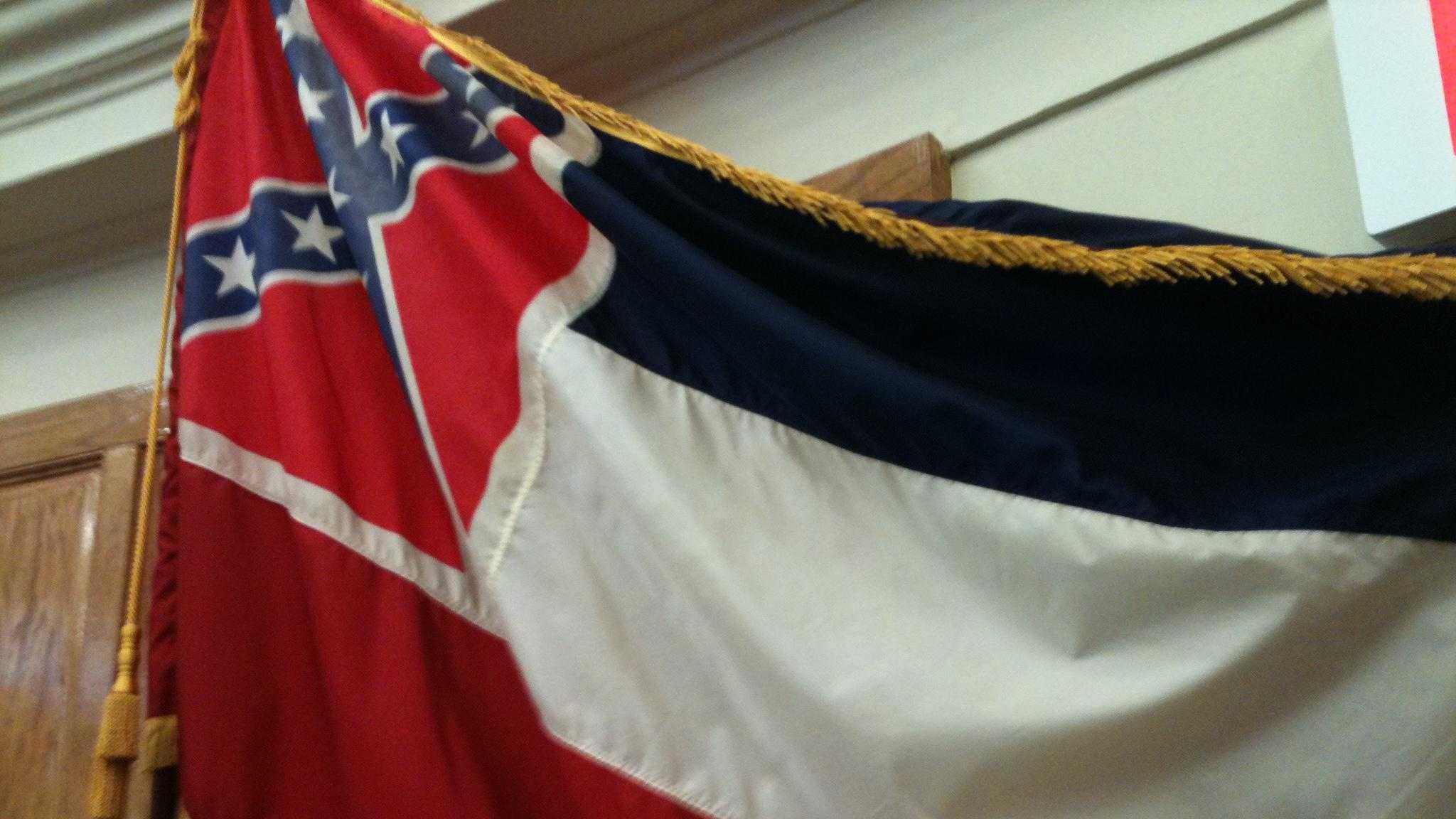 Mississippi State Flag - 24594298