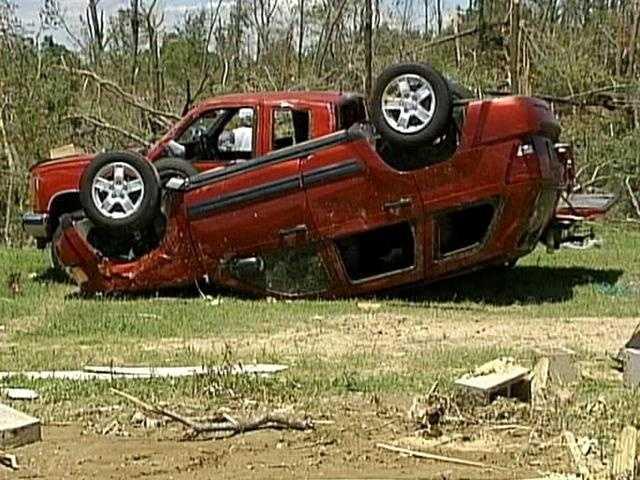 On April 24, 2010, a massive tornado tore across Mississippi.