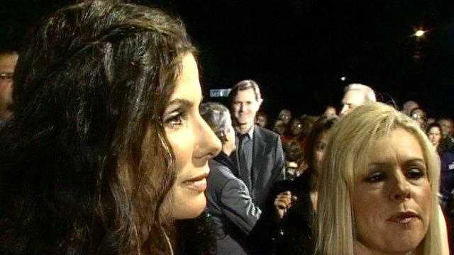 Sandra Bullock and Leigh Anne Touhy