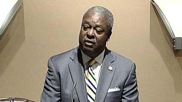 Jackson Mayor Harvey Johnson