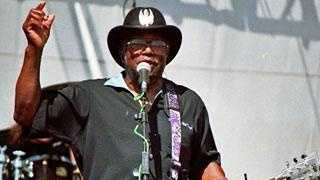 Bo Diddley performing live in 2006