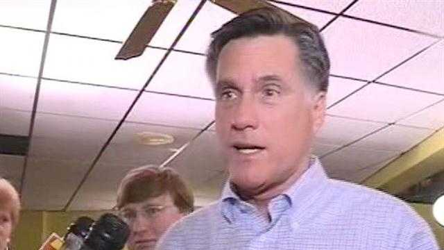 Mitt Romney campaigned in Mississippi in March.