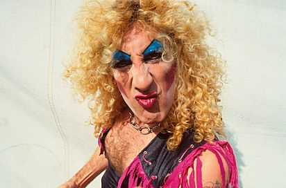 Dee Snider from Twisted Sister.