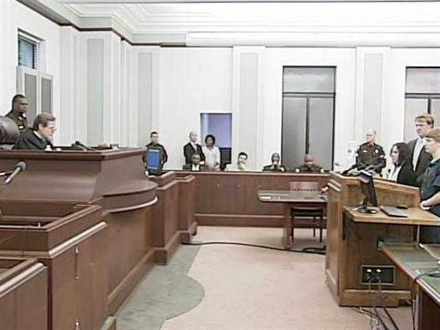 """Hinds County Circuit Judge Jeff Weill told Dedmon, """"You have admitted killing a man simply because of his race. Your prejudice has brought shame upon you and placed a great stain upon the state of Mississippi."""""""
