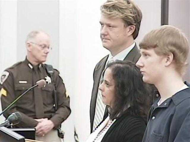Dedmon pleads guilty March 21 to murder and is sentenced to two life sentences under Mississippi's hate crime statute.