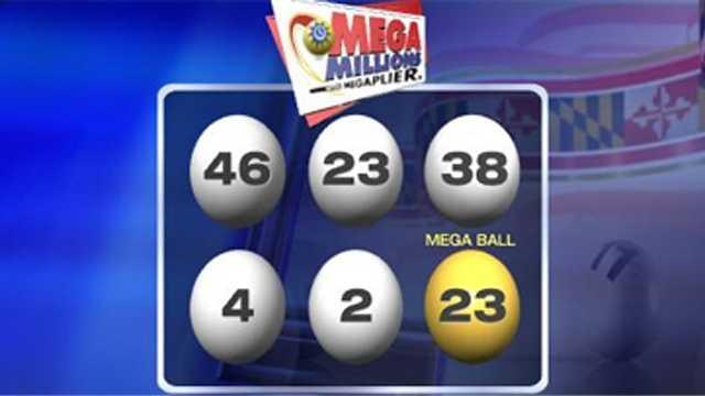 Mega Millions 03302012 winning numbers