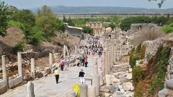 Tim visits Ephesus, Turkey
