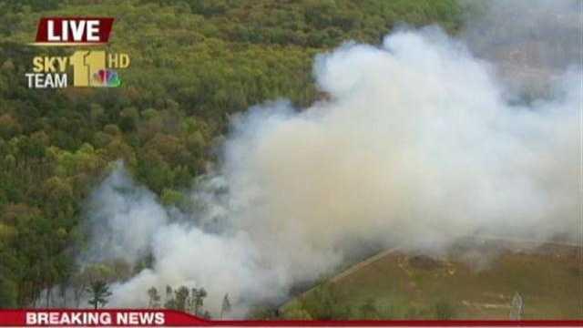 Howard County brush fire