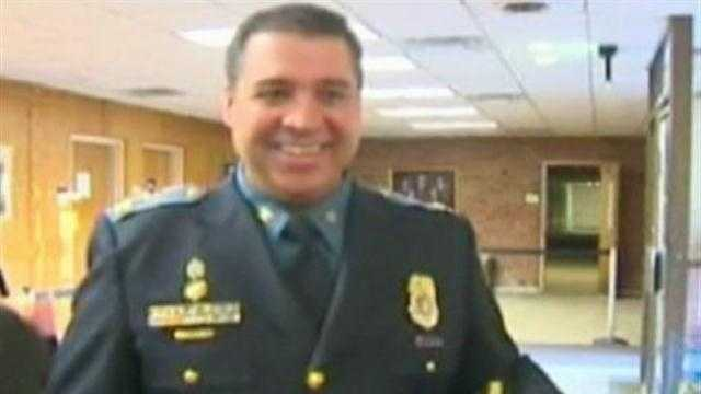 Anne Arundel County Police Chief James Teare