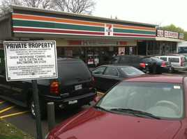 This is the Milford Mill store that sold the $640 million winning Mega Millions ticket in Maryland.<a>Watch The Drawing As It Aired On WBAL-TV</a> | <a>Story</a> | <a>More Photos</a>