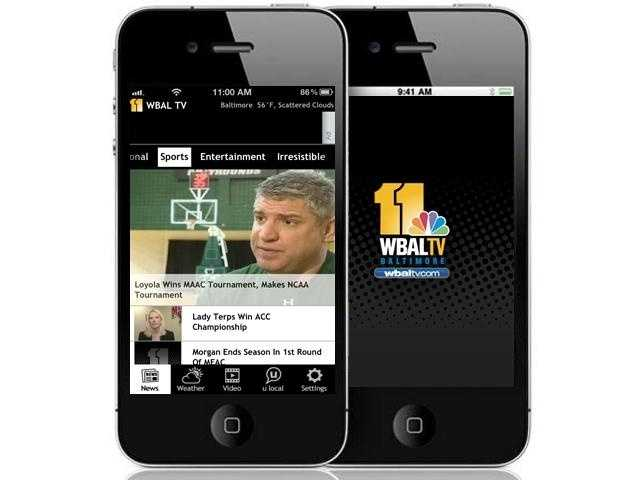 Our new app's sports coverage is improved and more comprehensive.
