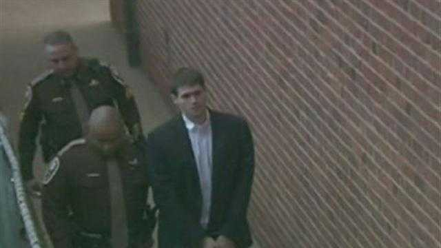 George Huguely at Charlottesville Circuit Court