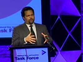"""The conference is considered one of the nation's largest gatherings of LGBT rights advocates. NAACP President Ben Jealous delivers this year's keynote address, saying, """"I stand before you today as an individual deeply invested in the struggle but also as the leader of an organization with strong connections to the fight for LGBT rights."""""""