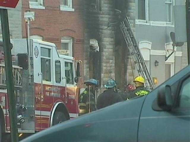 Two women and a child were injured trying to escape the flames. <b>View More Images Here.</b>
