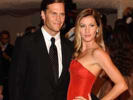 Finally, New England's quarterback Tom Brady has a supermodel wife, Gisele Bundchen.