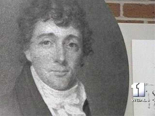 """Francis Scott Key gained his long-lasting reputation for penning """"The Star-Spangled Banner"""" when the British attacked Baltimore."""