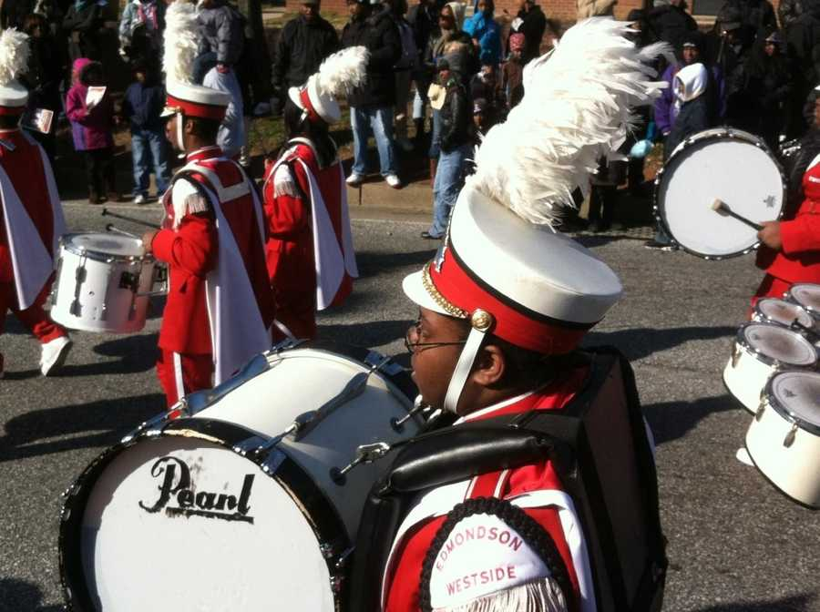Baltimore celebrates Martin Luther King Jr. Day. <b>See More Photos Here.</b>