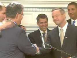After the bill failed in 2011, Gov. Martin O'Malley announced his support for same sex marriage in the 2012 legislative session.