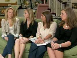 A year after Yeardley's death, her closest friends -- Jamie Kunkle, Kelly Cashen, Sarah Quinn, and Catherine Barthelme -- share with 11 News the memories they will cherish forever.