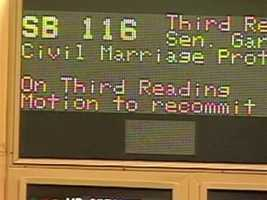 In February 2011, the Senate passed a same sex marriage bill that would die in the House within two weeks.